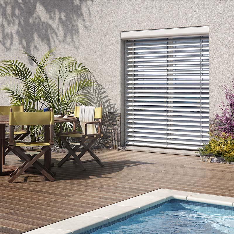 brise soleil orientables profalux projets de r novation. Black Bedroom Furniture Sets. Home Design Ideas